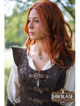 Ylenne Deluxe long Doublet - Brown