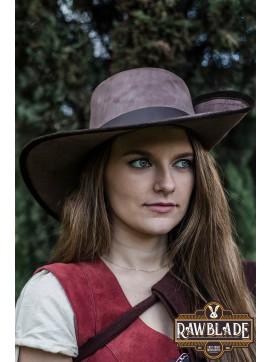 Iñigo Half-brimmed Hat -Cinnamon