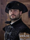 Deluxe Three Doublons Tricorne - Black