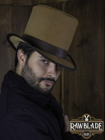 Tepes Top Hat - Light Brown