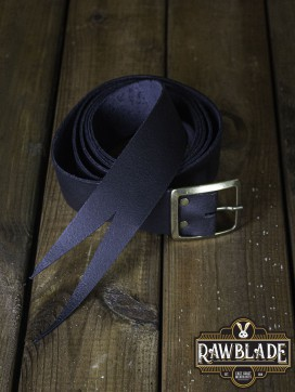Guzman Long Medieval Belt  - Black