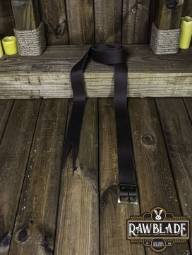 Guzman Long Medieval Belt  Brown