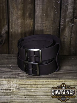 Beligor Double Belt - Brown