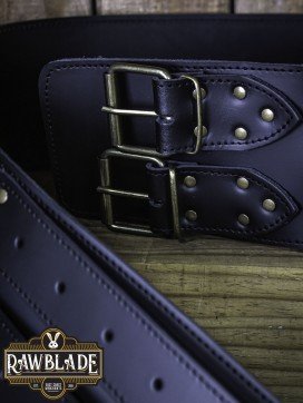 Wide Belt Lombard - Black