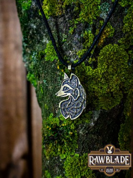Cunning Fox Amulet - Gold
