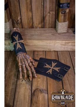 Order of Malta Knight Bracers