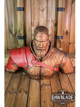Warrior pauldron - Red