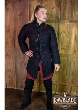 Morgause Gambeson Complete Black