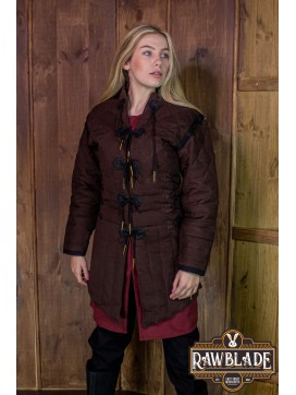 Morgause Gambeson Complete Brown