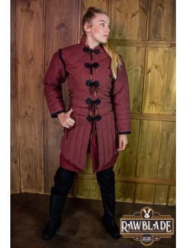Morgause Gambeson Complete Bordeaux
