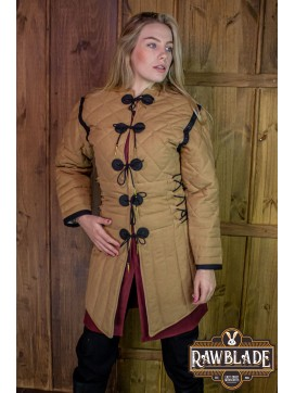 Morgause Gambeson Complete Light Brown