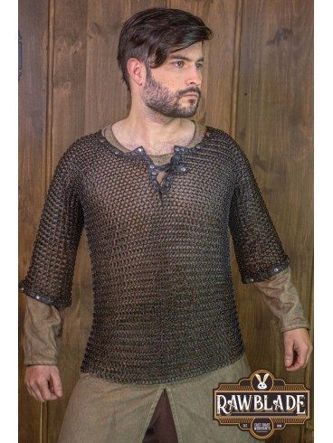Wiliam Steel Chainmail, Browned