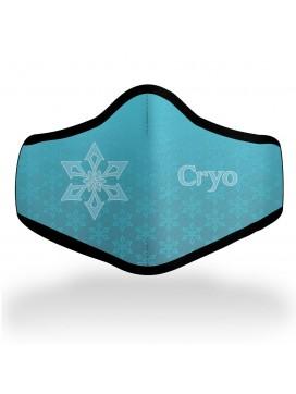 Genshin Impact Cryo Mask