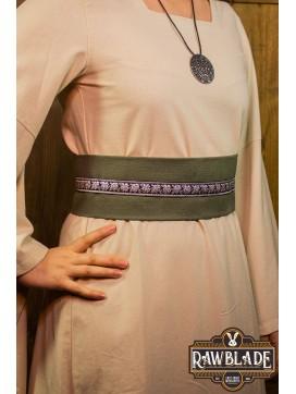 Jeanne fabric belt - Green