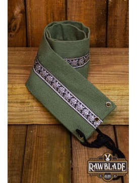 Jeanne fabric belt - Green