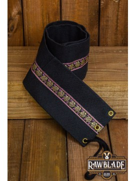 Jeanne fabric belt - Black