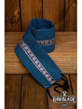 Jeanne fabric belt - Blue