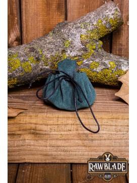 Traveler's  Coin Bag - Green