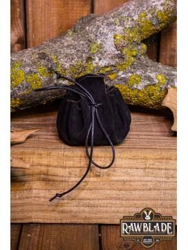 Traveler's  Coin Bag - Black