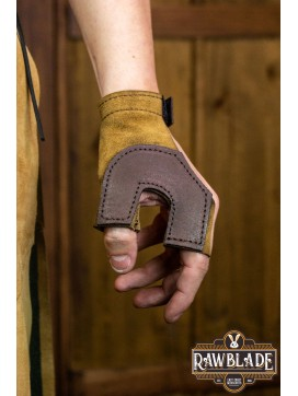 Archery Glove Oren - Light Brown