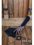 Vryla Split Leather Bracelets - Black
