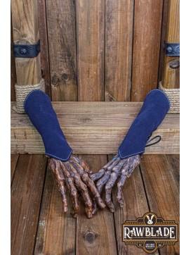 Brila Split Leather Bracelets Black