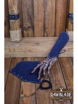 Vryla Split Leather Bracelets - Blue