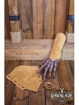 Vryla Split Leather Bracelets - Light Brown