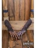 Vryla Split Leather Bracelets - Brown