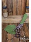 Vryla Split Leather Bracelets - Green