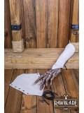Vryla Split Leather Bracelets - Gray