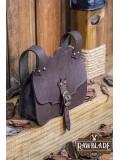 Hakoon Leather Bag - Brown