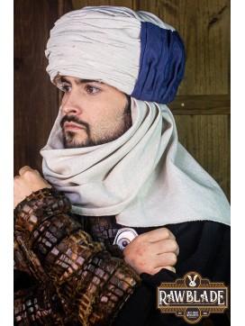 Vaishir Turban - White and Blue