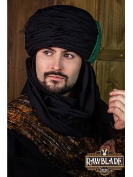 Vaishir Turban Black and Green