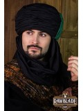 Vaishir Turban Black and Green
