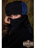Vaishir Turban Black and Blue