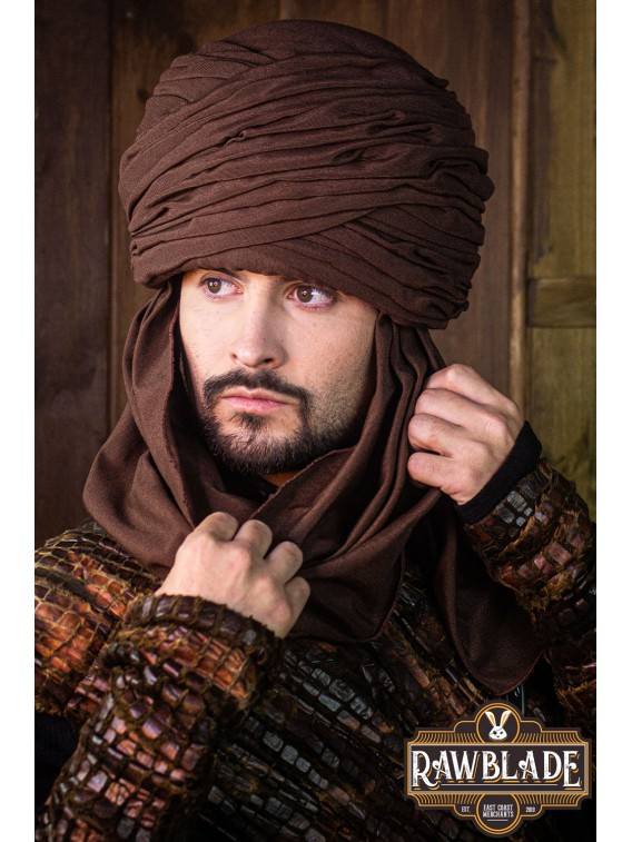 Hamtar Turban Brown