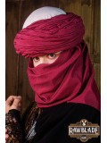 AzraqTurban White and Red