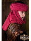 Azraq Turban Black and Red