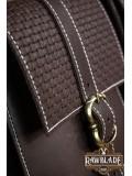 Valiant Double belt Bag, Brown