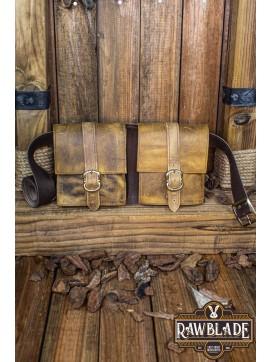 Valiant Double belt Bag, Weathered