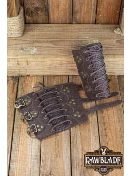 Wylean Bracelets Pair - Brown