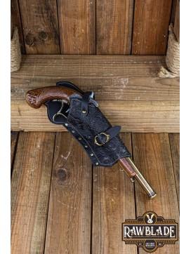 Jack Rackham Pistol Holder Deluxe Right - Black