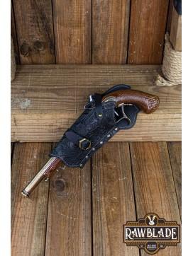 Jack Rackham Pistol Holder Deluxe Left - Black
