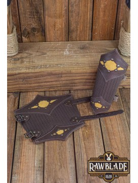 Beljant Bracer Brown and Summer Yellow
